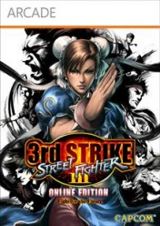 Cover Street Fighter III 3rd Strike Online Edition (Xbox 360)