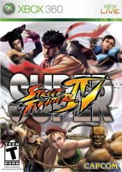 Cover Super Street Fighter IV (Xbox 360)