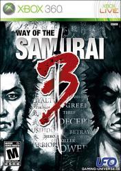 Cover Way of the Samurai 3