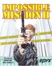 Cover Impossible Mission II (ZX Spectrum)