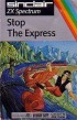 Cover Stop the Express - ZX Spectrum