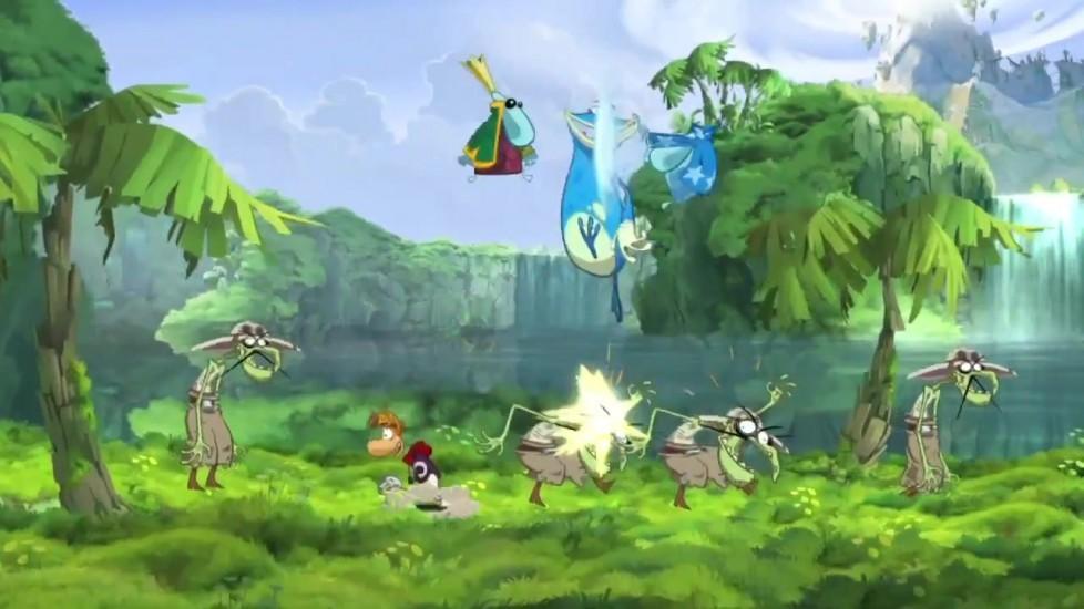 Immagine Caratteristiche di Rayman Origins in video