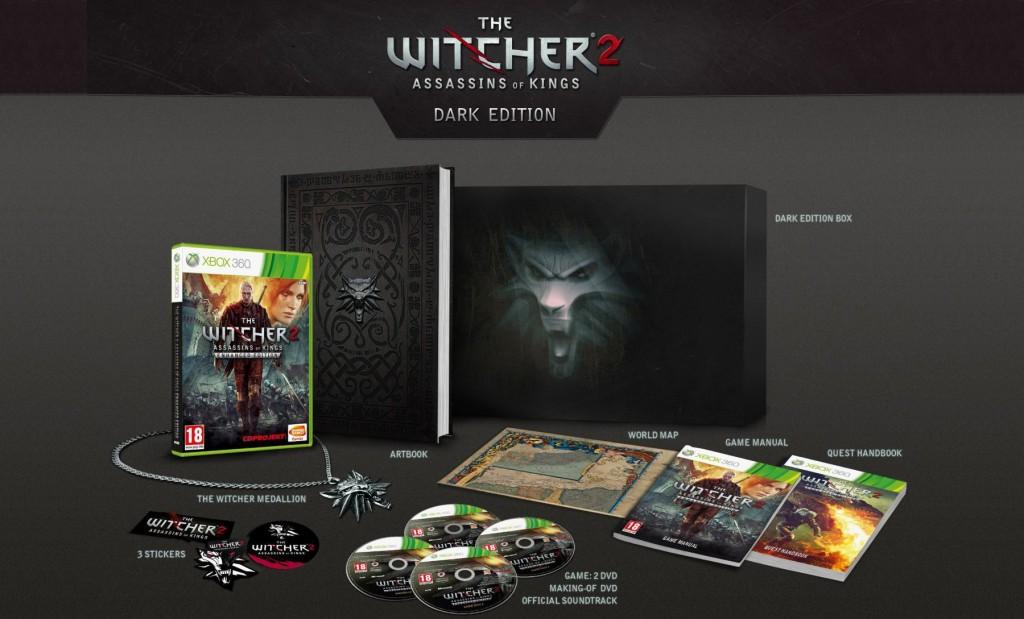 Immagine Edizioni da collezionisti per The Witcher 2 su Xbox 360
