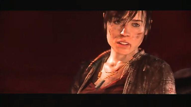 Alcune sequenze di gioco di Beyond: Two Souls