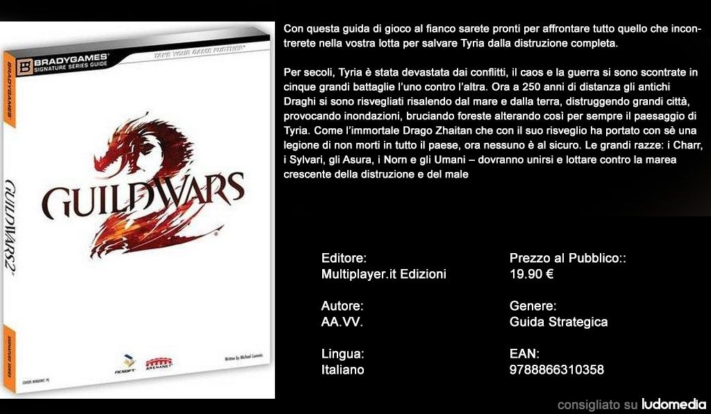 Immagine Guild Wars 2: disponibile la guida strategica ufficiale