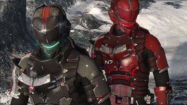 Immagine L'armatura N7 di Mass Effect 3 sarà disponibile anche su Dead Space 3!