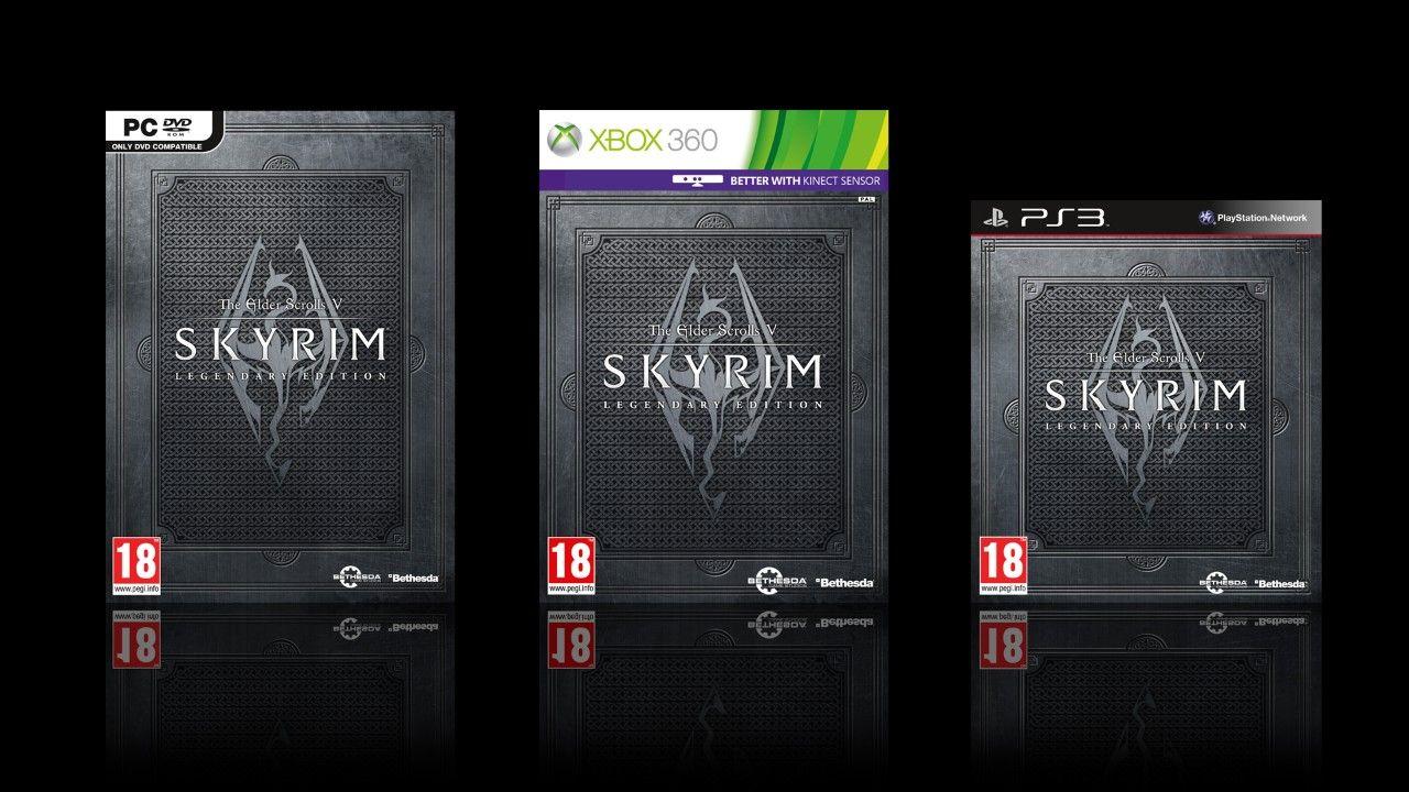 Immagine Esce oggi: The Elder Scrolls V: Skyrim Legendary Edition