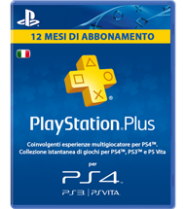 Playstation plus 12mesi