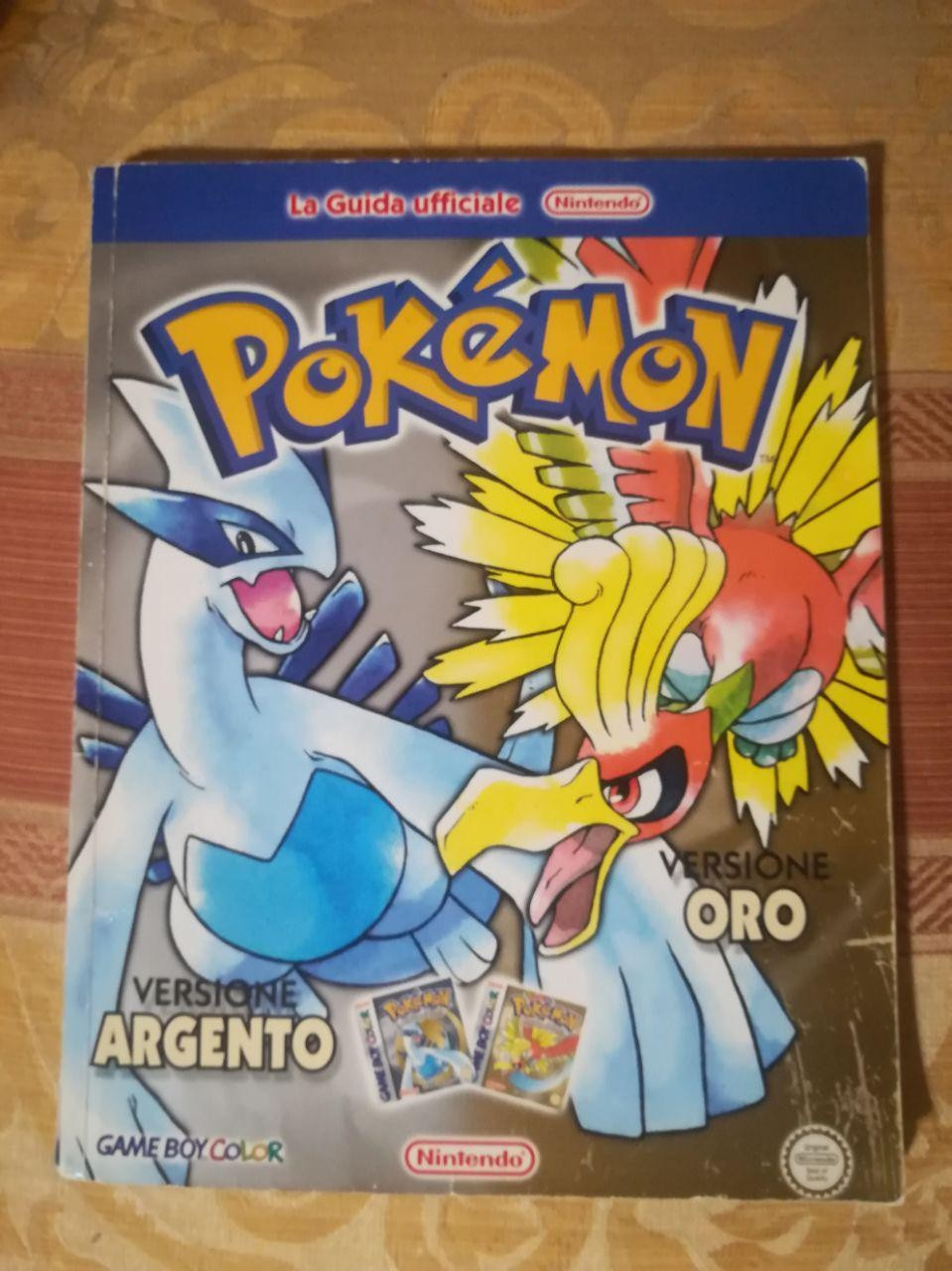 info for 245b8 08833 Vendo Guida pokemon oro e argento game boy color a 40 ...