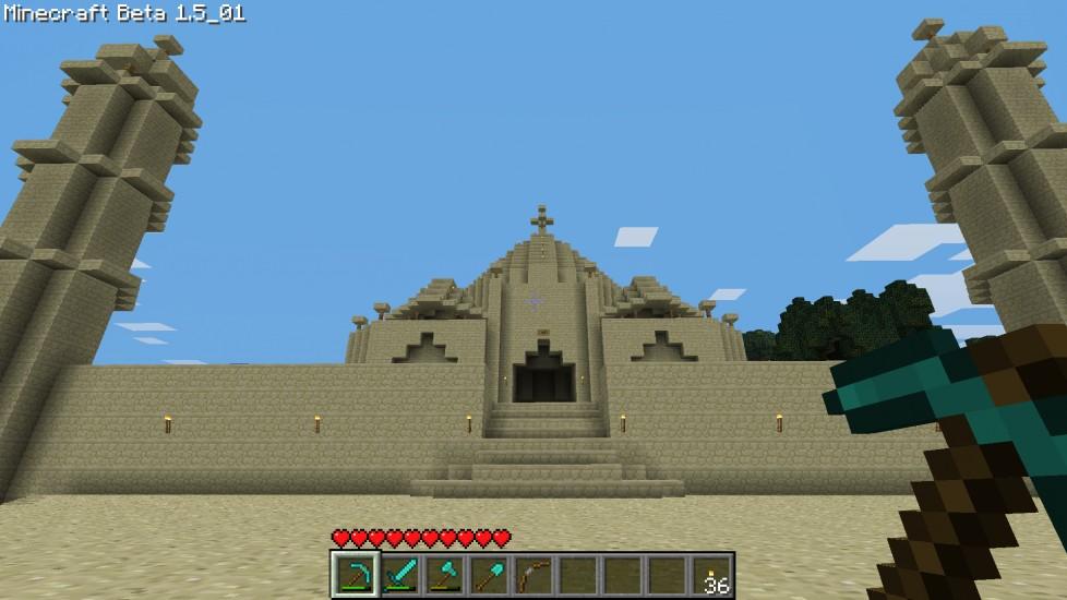 Case Di Montagna Minecraft : La storia di herobrine ludomedia
